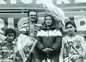 Mile '84 Zolder links Dunlop rechts Burnett